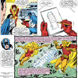 Spoiler: This entire plot line is a pointless red herring. (Avengers #263)