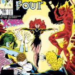 """If no one sends in lyrics to """"Like a Phoenix,"""" we're going to be kind of disappointed. (Fantastic Four #286)"""
