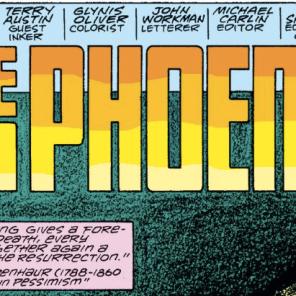 1) Those credits, man. 2) THAT EPIGRAM. (Fantastic Four #286)