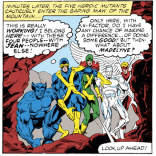 "NOTE: The appropriate soundtrack to literally every scene Cyclops is in in this issue is ""Country Feedback,"" by R.E.M., on repeat. (X-Factor #1)"