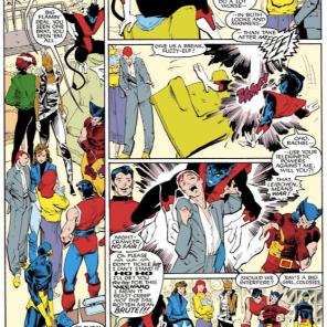 Rick Leonardi is so good. (Uncanny X-Men #201)