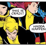 """Look at Magneto on the end, like, """"I'm a supervillain, and I think these people are out of their damn minds."""" (Uncanny X-Men #201)"""