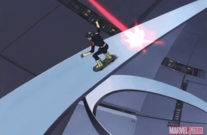 Gettin' pretty X-Treme, there, Spyke. Not, like, Adam X the X-Treme. But pretty X-Treme.