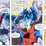 Lady Bamfs are ALSO terrible sex Smurfs. (Nightcrawler #4)