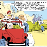 ARCADE IS ALSO DELIGHTFUL. (Uncanny X-Men #204)