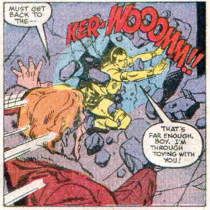 Does no one ever use doors in this comic? (X-Factor #4)
