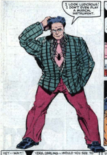 True Fact: If one of you had submitted this outfit for the plainclothes cosplay contest, you would have won, no questions asked. (X-Factor #5)