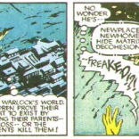 Warlock has some parent issues. (New Mutants Annual #2)