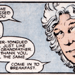 Headcanon: Sam never has any idea what his mom's going to look like when he gets home. (New Mutants #42)