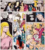 Aw, they're so happy. About revenge. (New Mutants #43)