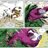 No idea who the purple individual is, which is a shame, because they seem awesome. (Uncanny X-Men #211)