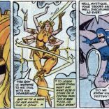 I don't know why I find Spiral just taking off mid-fight for a different comic so funny, but GOD, I do. (X-Factor #8)