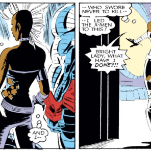 In her defense, everything is in fact well and truly fucked. (Uncanny X-Men #212)