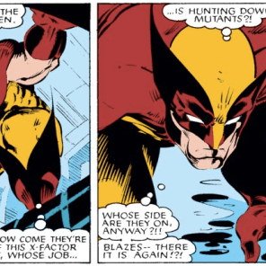 And again. See what I meant about the alcohol-poisoning thing? (Uncanny X-Men #212)
