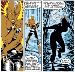 You can, however, take a drink when Storm takes off her clothes for no clear reason. (Uncanny X-Men #212)