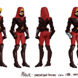 Magik, by Nelson Hernandez. (TRUE FACT: Superheroes in jackets are the best superheroes.)