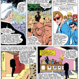 """Not sure why Alanis Morisette didn't bring this up in """"Ironic."""" (Uncanny X-Men #210)"""