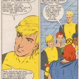Robert the Bruce was kind of a shallow dude. (New Mutants #47)