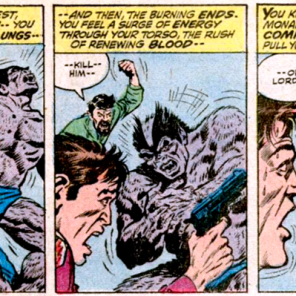 The Beast at the height of his invulnerability and his creepiness. (Amazing Adventures #11)