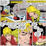 Please let us know if you can work out the timeline here, because we've basically stopped sleeping, and it's not pretty. (Uncanny X-Men #219)