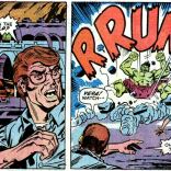The Hulk drops in. (The Incredible Hulk #161)