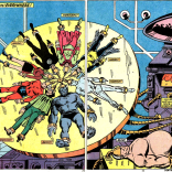 Wheel of mutants (this is all part of Nixon's plan). (Captain America #174)