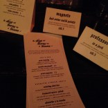 Custom drink menus from The Steep & Thorny Way to Heaven. (The X-Men menu was 21+; New Mutants were all-ages.)