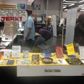 We have a table! (Also, a lot of people were really irate about the word balloon, SIGH.)