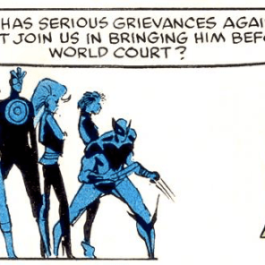 """""""We could resolve this peacefully, and--actually, nah, you know what? Let's just punch each other for another two issues."""" (X-Men vs. Avengers #2)"""