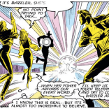 More sound and speech balloons. (Uncanny X-Men #222)