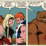 """Howsabout bears? You got a problem with those, too?"" (X-Men vs. Avengers #3)"