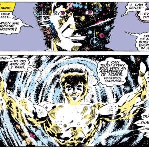 """I feel it! I feel the cosmos!"" (Uncanny X-Men Annual #11)"