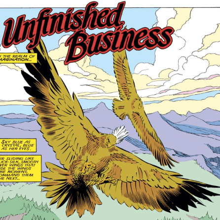 We missed you, hawk 'hawk! (Uncanny X-Men #220)