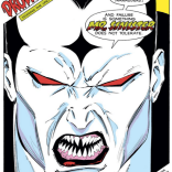Mister Sinister's full-page debut! (Uncanny X-Men #221)