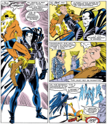 Look at this glorious sonofabitch. (Uncanny X-Men #221)