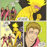 I remain retroactively disappointed that they didn't do a classic romance comic cover for this issue. Art challenge? (New Mutants #56)