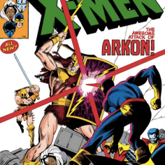 It is reasonably appropriate to judge this book by its cover. (X-Men Annual #3)