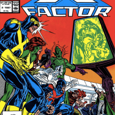 I try, but I just cannot get past those faces. (X-Factor Annual #2)