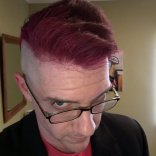 Not only did @rememberyhorsenail Quentin Quire's signature look, but he's got the glare down to a science!