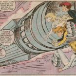 Remember that time Power Pack straight-up killed an old lady? Because that DEFINITELY HAPPENS in this issue. (X-Factor #25)