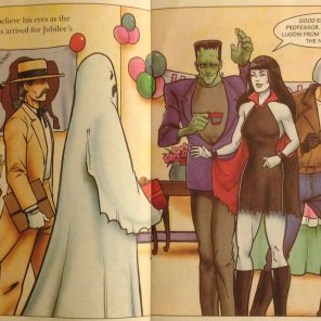 The X-Men take costume parties REALLY DAMN SERIOUSLY. (Tattoo Tales: X-Men: Masquerade)