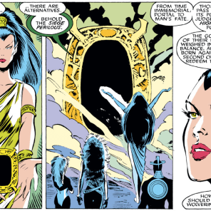Chekhov's mystic portal. (Uncanny X-Men #229)