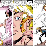 Question: Based on his powers, is it SUPER AWKWARD for Longshot to use the toilet? (Uncanny X-Men #230)