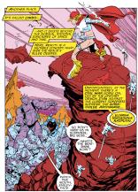 Leonardi draws the best Darkchylde by a pretty wide margin. (Uncanny X-Men #231)