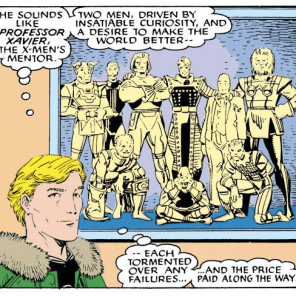 In which Alex comes *this close* to the realization that Charles Xavier is totally a supervillain. (Uncanny X-Men Annual #12)