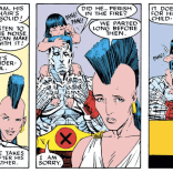 I'm not actually certain they ever followed up on this. (Uncanny X-Men Annual #12)