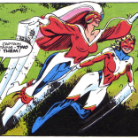 There's probably a universe where Captain Britain is in fact a girl gang, and that's the universe where I want to live.
