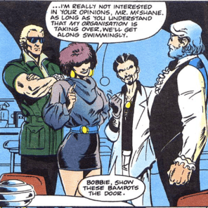 Hardboiled gangster Meggan is the goddamn best.