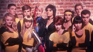 "Lila and the New Mutants as they appeared in ""I Will Steal Your Heart."" Photo courtesy of Arvin Bautista / SuperheroPop."