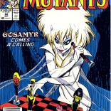 Chessboard cover. Take a drink, or manipulate your friends and loved ones in a complex tactical gambit. (New Mutants #68)